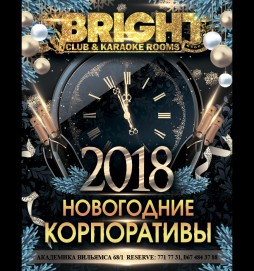 Новогодние корпоративы (Bright Club & Karaoke Rooms)
