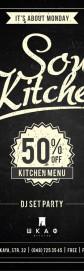 Soul Kitchen Night 05/03