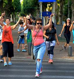Dance Walking - флешмоб